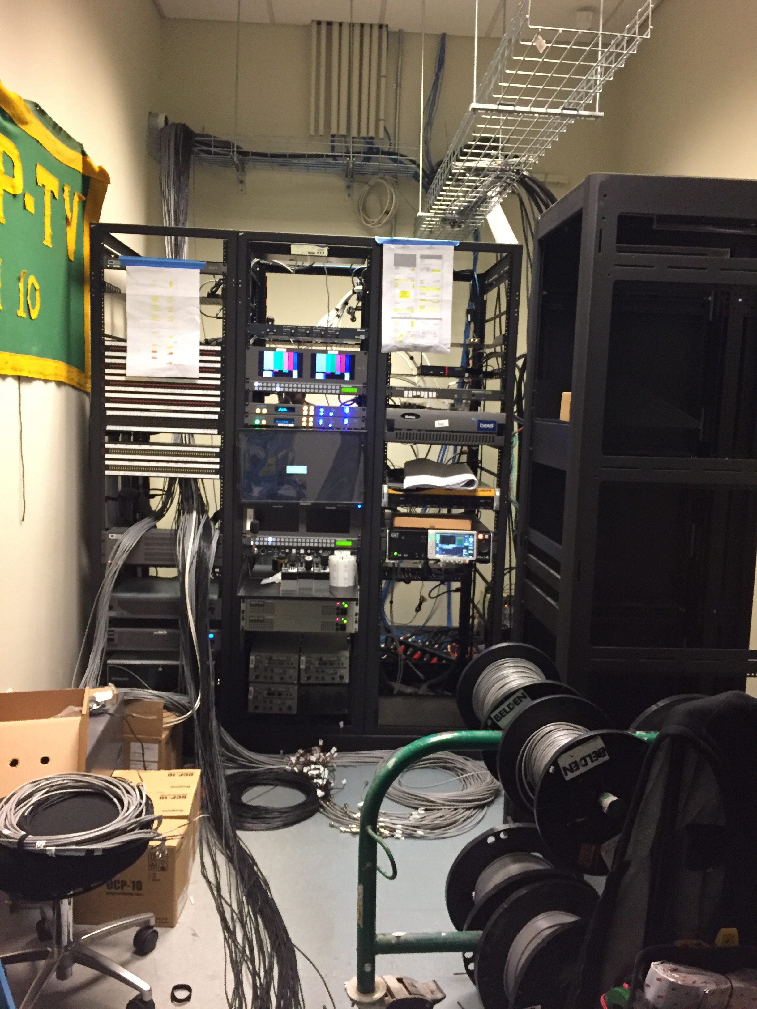 The rack room is coming together slowly