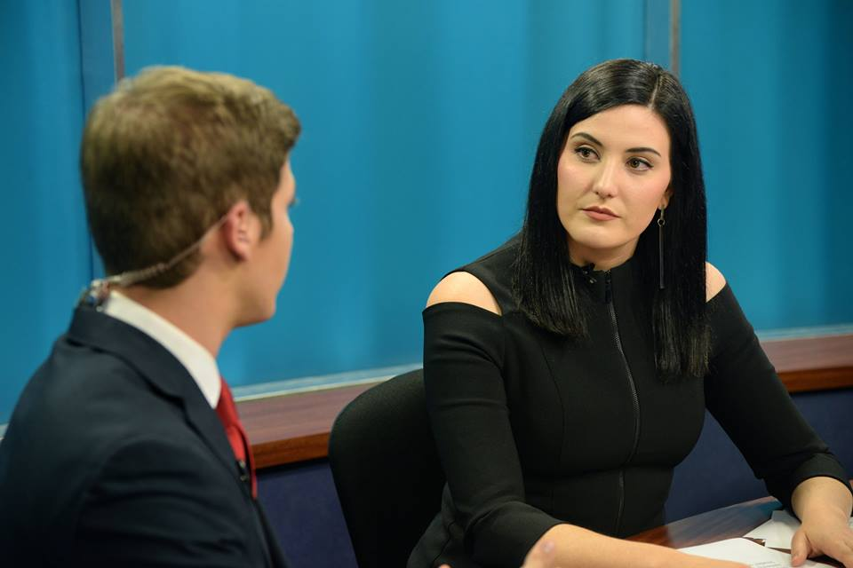 Host Justin Penman interviewed international student Lindsey Martin, who gave a different perspective on the election