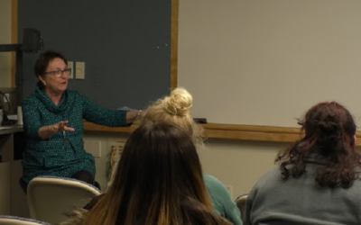 """Retired Le Moyne professor discusses """"The Madame's Business."""""""